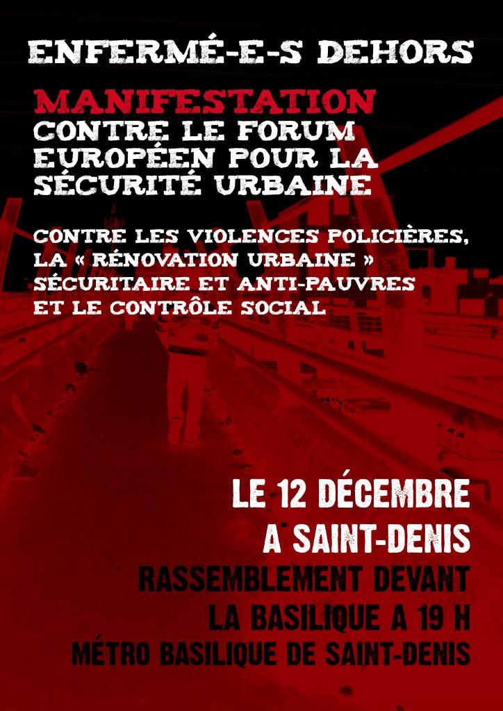 Affiche contre FESU