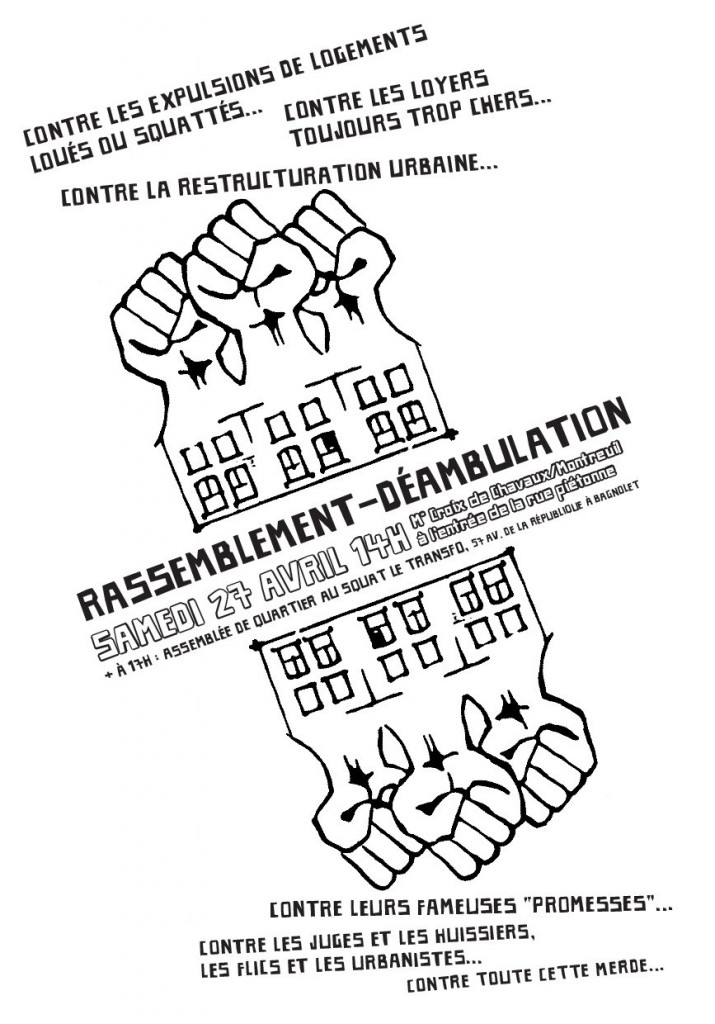 Manif contre restructuration urbaine 27-04-13