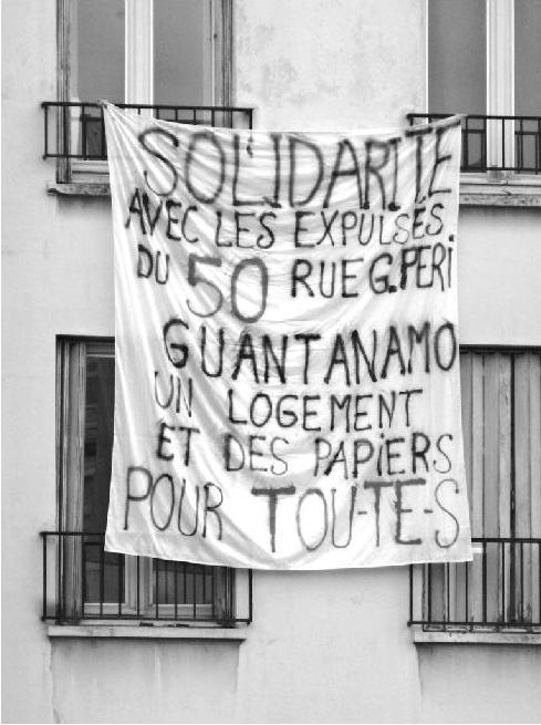banderole 50 rue gabriel peri